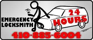 24 Hour Emergency Locksmith Baltimore MD 410-885-6004