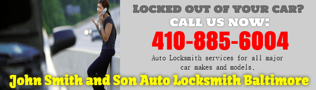 Locked out of your car? Call us now at 410-885-6004 for the best auto locksmith service for all major car makes and